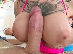Harlow Harrison and Chloe Carter sharing a cock like true friends
