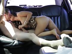 Asian doll with hot ass having her anal fucked in the car