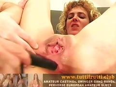 Slut and kinky euro mom home porn