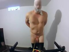 Tied His Penis to a Treadmill