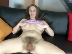 Exotic Homemade movie with Webcam, Hairy scenes
