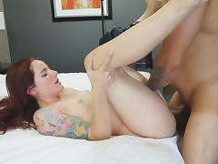 Tony & Maci May in Hairy Nubile Loves Rough Fuck - SpyPOV