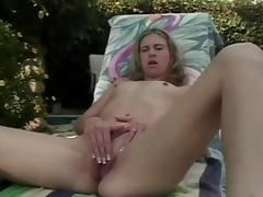 Best pornstar Juliana Kincaid in fabulous dildos/toys, blonde xxx clip