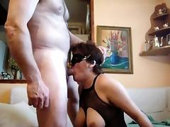 Adult german girlfriend deepthroat and joke