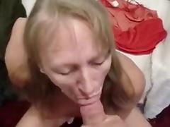 Blonde, Blonde, Blowjob, Cumshot, Facial, POV