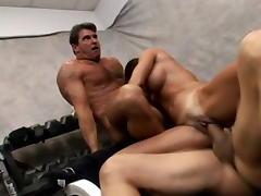 Hottest pornstar Kristine Madison in fabulous cunnilingus, cumshots porn clip