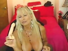 Aged, Aged, Big Tits, Blonde, Masturbation, Mature