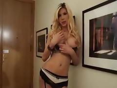 Shemale milla sexy lingerie