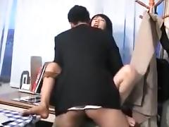 Korean office sex
