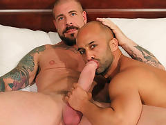 Rocco Steele and Igor Lucas - BarebackThatHole