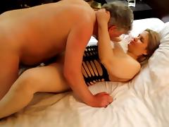 Russian MILF fucking cowgirl with Stuart Wilson