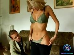 Lea, Lilou and Miriam lineup just to fuck Rocco Siffredi