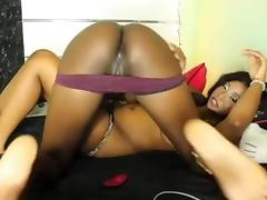 Exotic amateur model in hottest ebony, webcam xxx movie
