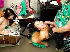 Cindy Starfall & Lexy Bandera & Katya Rodriguez in Holiday Cheer - DareDorm