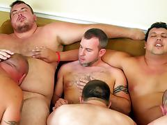 Orlando Orgy, Part 1 - BearFilms