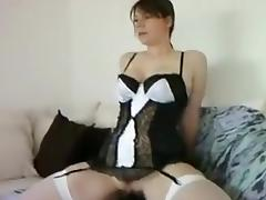 Hottest Amateur movie with Toys, Stockings scenes