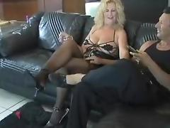 Horny Amateur clip with Mature, Stockings scenes