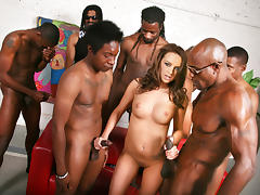 All, Banging, Big Cock, Black, Gangbang, Group