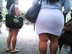 Big babe walking Bridgett from dates25com