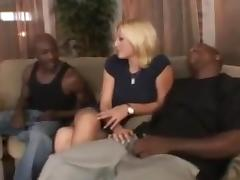 Ana   stacy interracial anal foursome