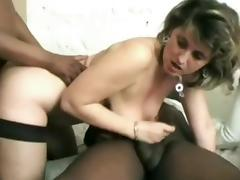 Horny Homemade movie with Stockings, Big Tits scenes