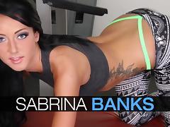 WANKZ- Sabrina Banks Fucked
