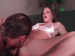 Crazy pornstar Liza Harper in hottest brunette adult clip