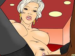 Good Interracial Cartoon Video