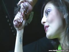 gloryhole cock drips and insane amount of pre-cum during fem