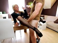 Assfucking, Anal, Assfucking, Nylon, Pantyhose, Smoking