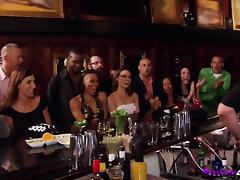 Party with horny chicks in swinger reality show