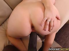 Redhead Amber Ivy Fucks A Big Black Cock On Casting
