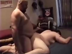 Daddybear and fred share a chub
