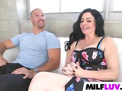 Sexy MILF Natalie Lovenz Got Filled
