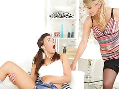 Keira & Katarina Hartlova in Caught In the Act - DogHouseDigital