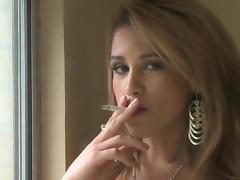 Smoking, Small Tits, Smoking, Cigarette
