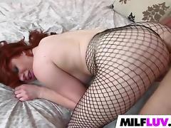 Redhead MILF Veronica Vain gets slammed