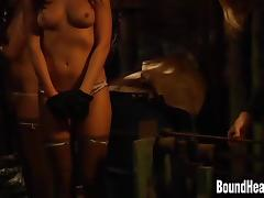 Slave Huntress II: Busty Teen Girl Sold In Slavery