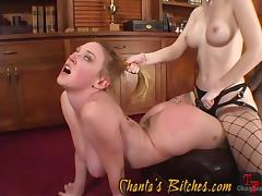 redhead slave is fucked so hard in her cunt