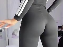 Female Ejaculation, Ass, Black, Nylon, Squirt, Female Ejaculation