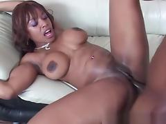 Fabulous pornstar Ayana Angel in hottest black and ebony, anal sex scene
