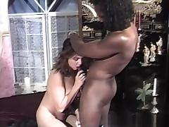 Crazy pornstar Esa Marie in horny brunette, interracial porn movie