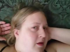 Cumming on her Pussy