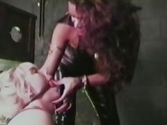 Fabulous pornstar Mistress Kyra in exotic lesbian, bdsm sex movie