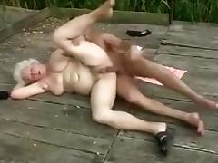 Crazy Amateur movie with Young/Old, Grannies scenes