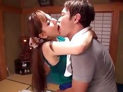 Exotic Japanese girl Kaori Saejima, Chika Arimura, Rion Nishikawa in Horny Girlfriend JAV video