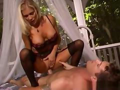 Crazy pornstar Monika Star in fabulous anal, fishnet adult scene