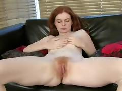 Amazing Homemade clip with Redhead, Strip scenes