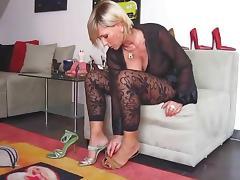 Lady fetiche pes salto