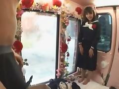 Hottest Japanese girl in Amazing Reality, College JAV scene